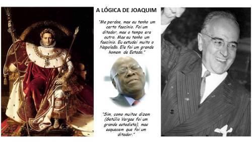 A lógica de Joaquim Barbosa...